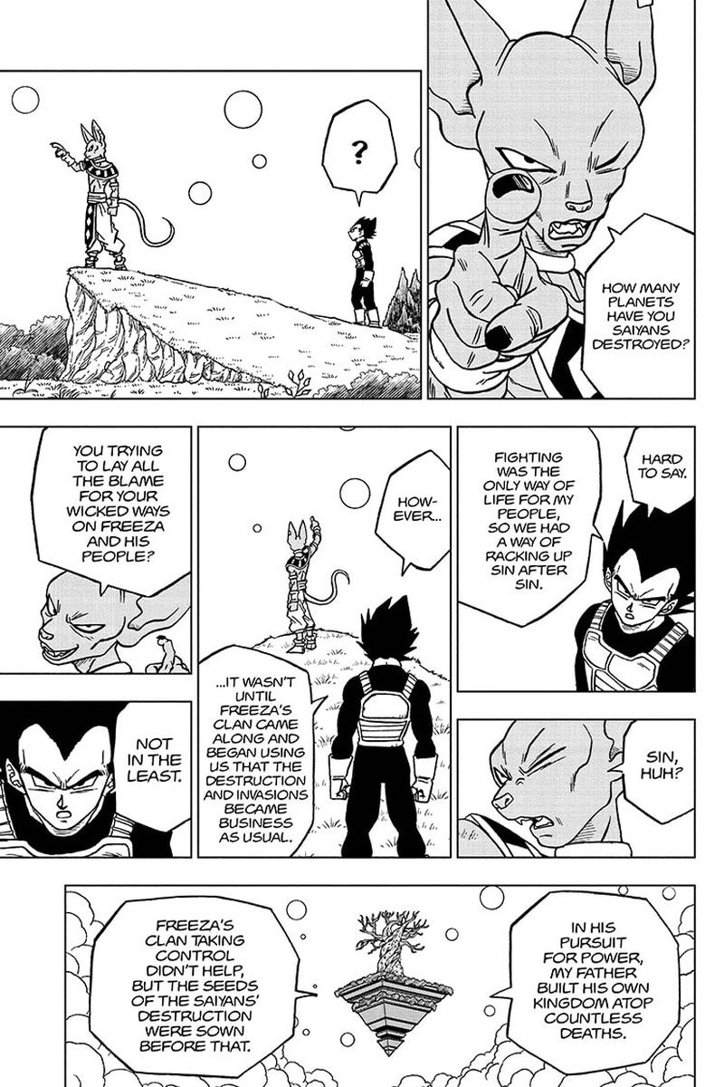 Dragon Ball Super Chapter 69  Online Free Manga Read Image 9