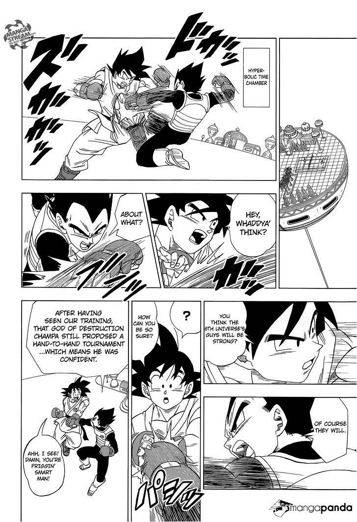 Dragon Ball Super Chapter 7.2  Online Free Manga Read Image 11