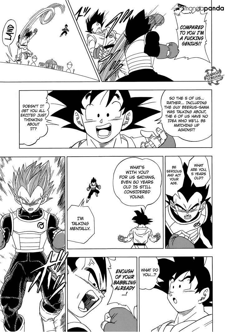 Dragon Ball Super Chapter 7.2  Online Free Manga Read Image 12