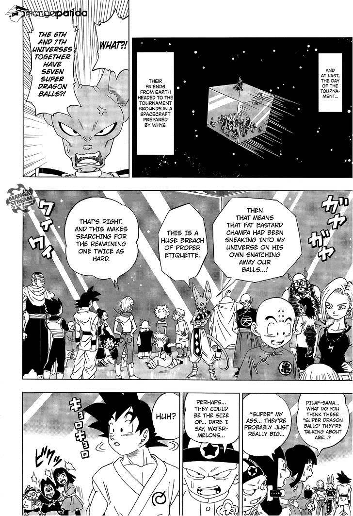 Dragon Ball Super Chapter 7.2  Online Free Manga Read Image 15