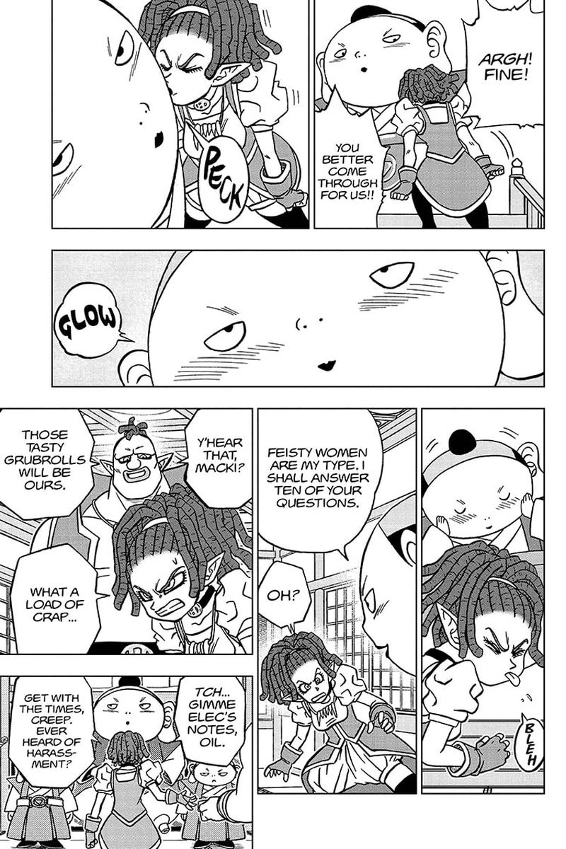 Dragon Ball Super Chapter 71  Online Free Manga Read Image 15
