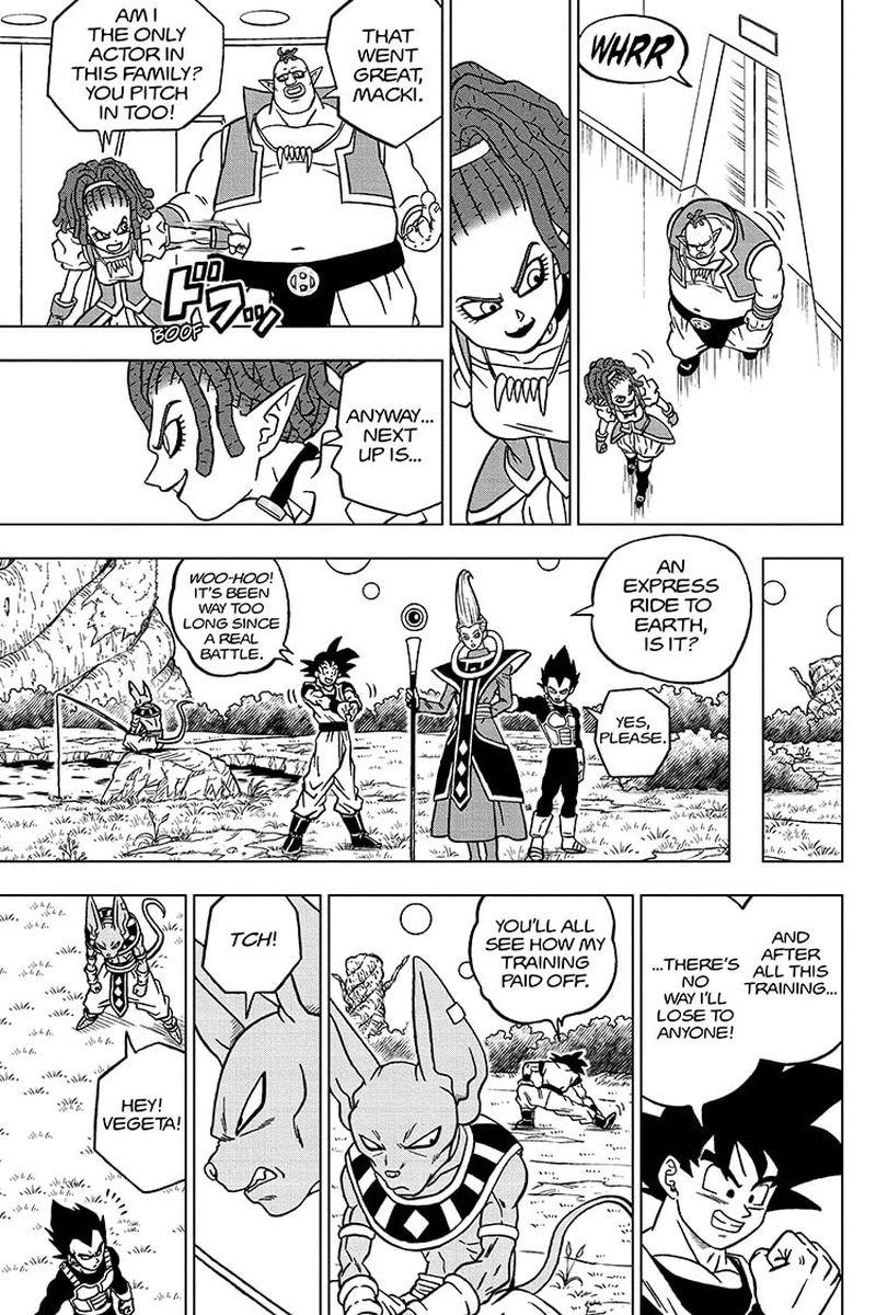Dragon Ball Super Chapter 71  Online Free Manga Read Image 29