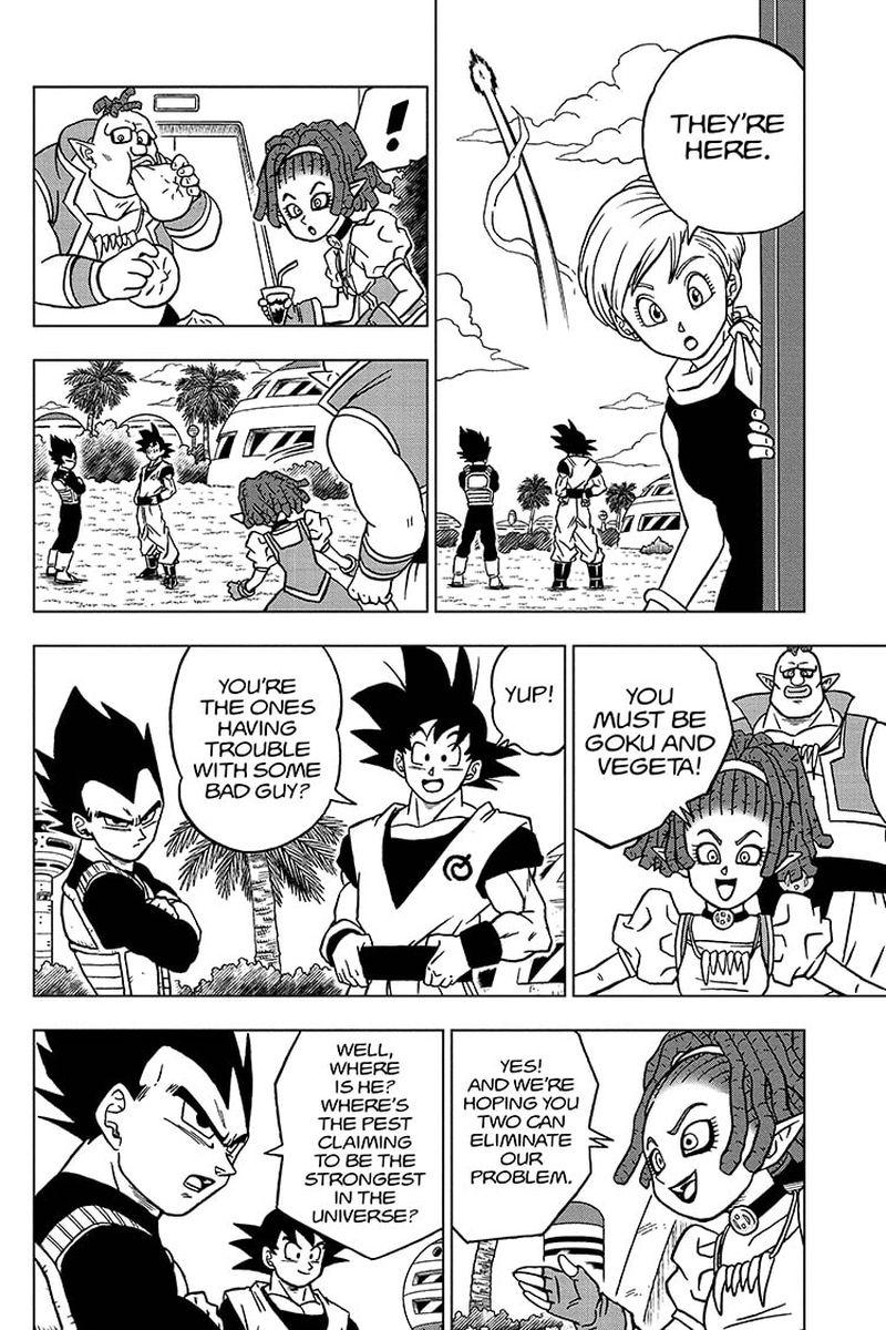 Dragon Ball Super Chapter 71  Online Free Manga Read Image 36