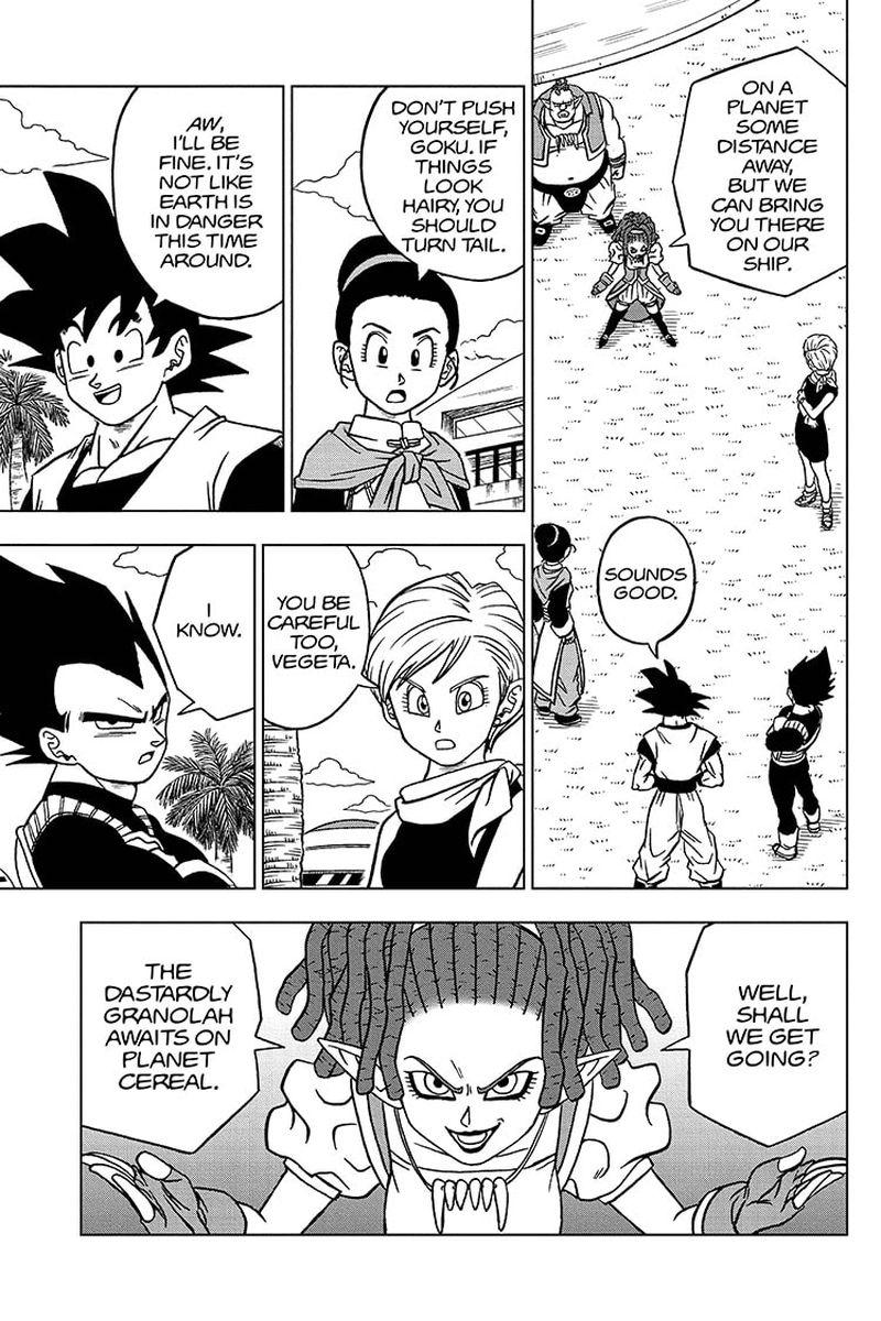 Dragon Ball Super Chapter 71  Online Free Manga Read Image 37
