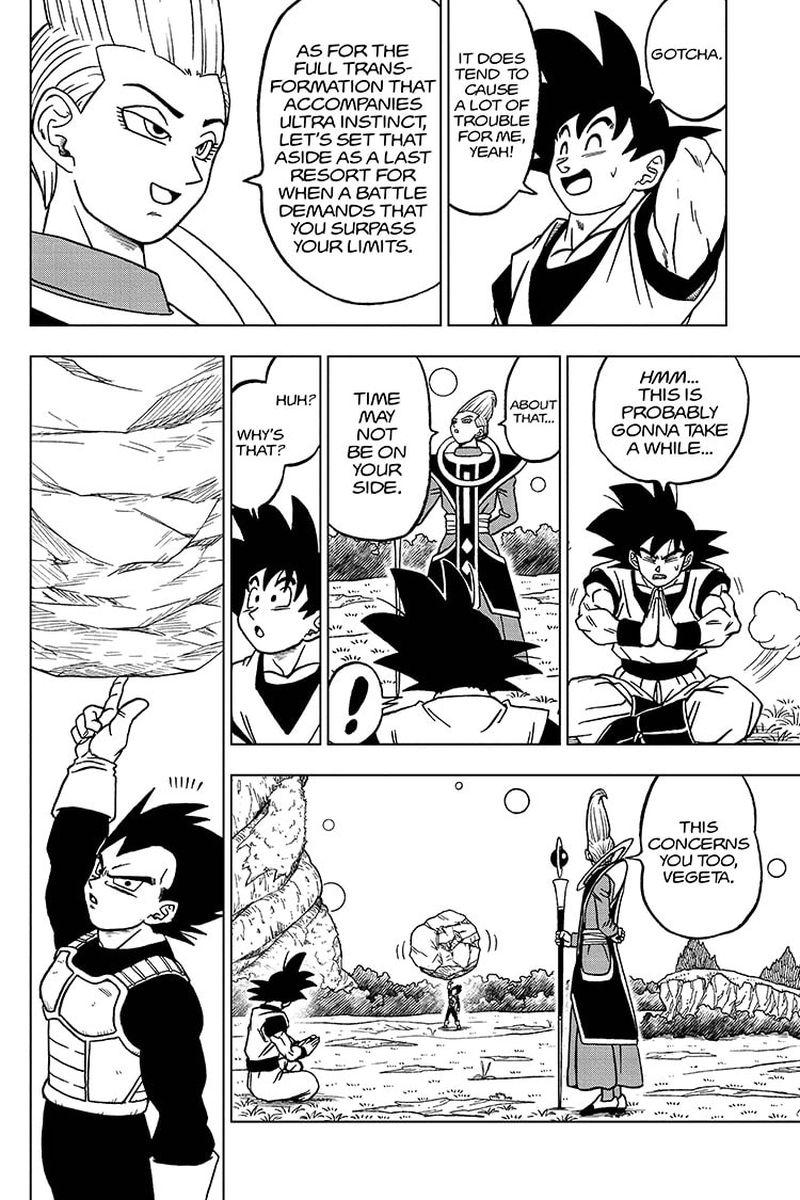 Dragon Ball Super Chapter 71  Online Free Manga Read Image 6