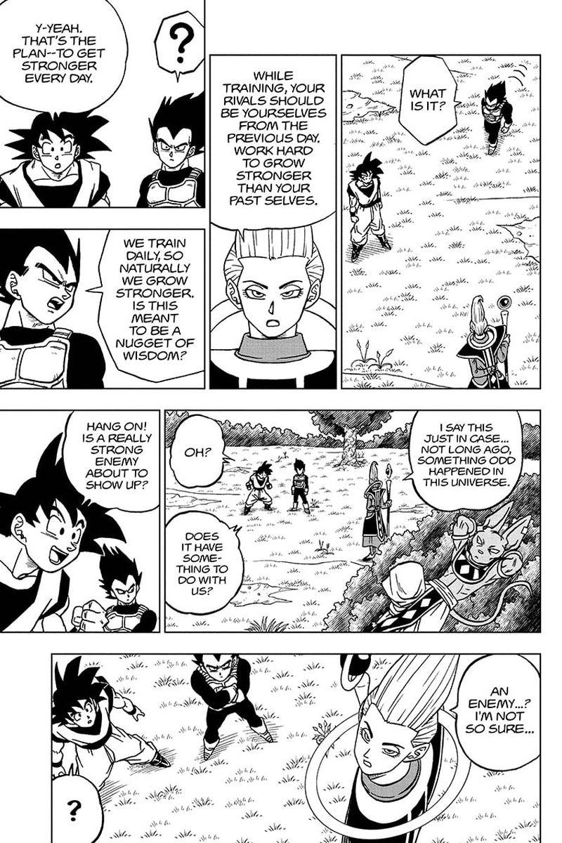Dragon Ball Super Chapter 71  Online Free Manga Read Image 7