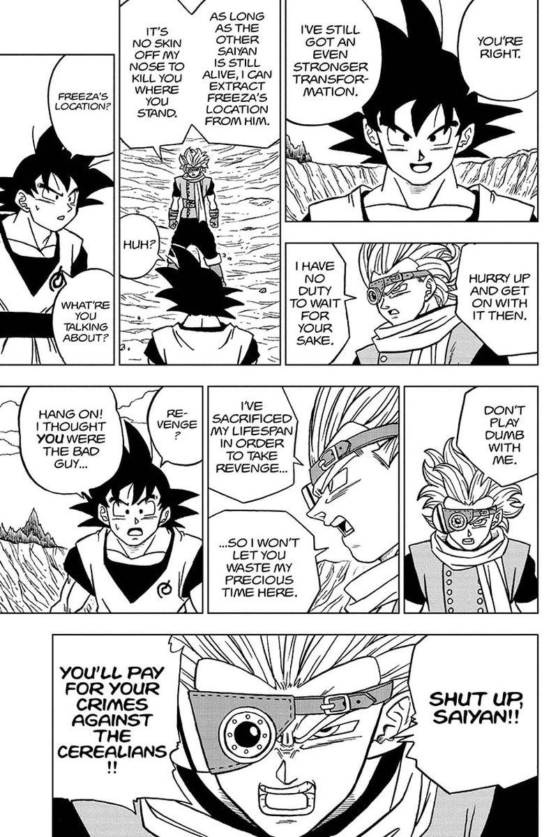 Dragon Ball Super Chapter 72  Online Free Manga Read Image 37