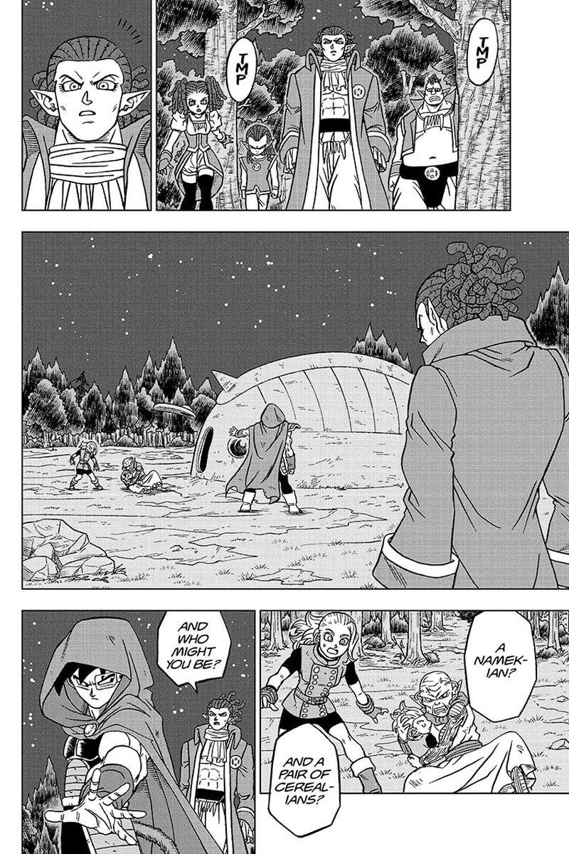 Dragon Ball Super Chapter 77  Online Free Manga Read Image 36