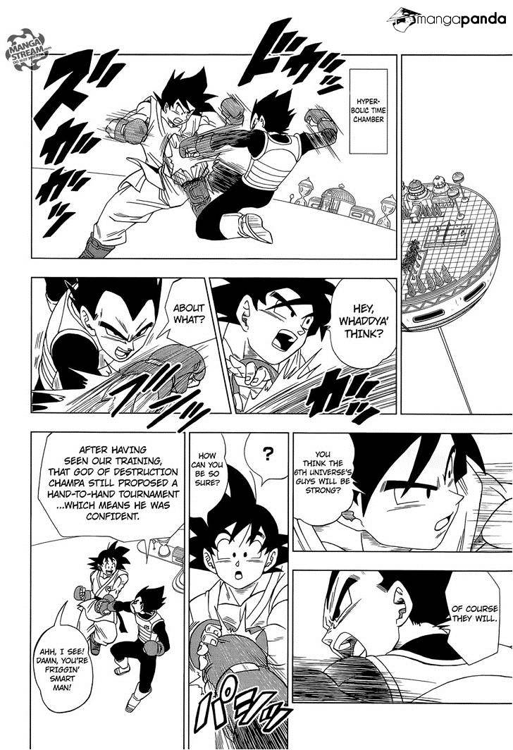 Dragon Ball Super Chapter 8.2  Online Free Manga Read Image 10