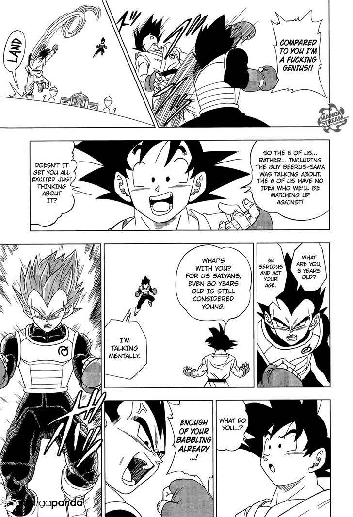 Dragon Ball Super Chapter 8.2  Online Free Manga Read Image 11