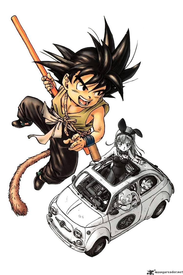 Dragon Ball Chapter 1  Online Free Manga Read Image 2