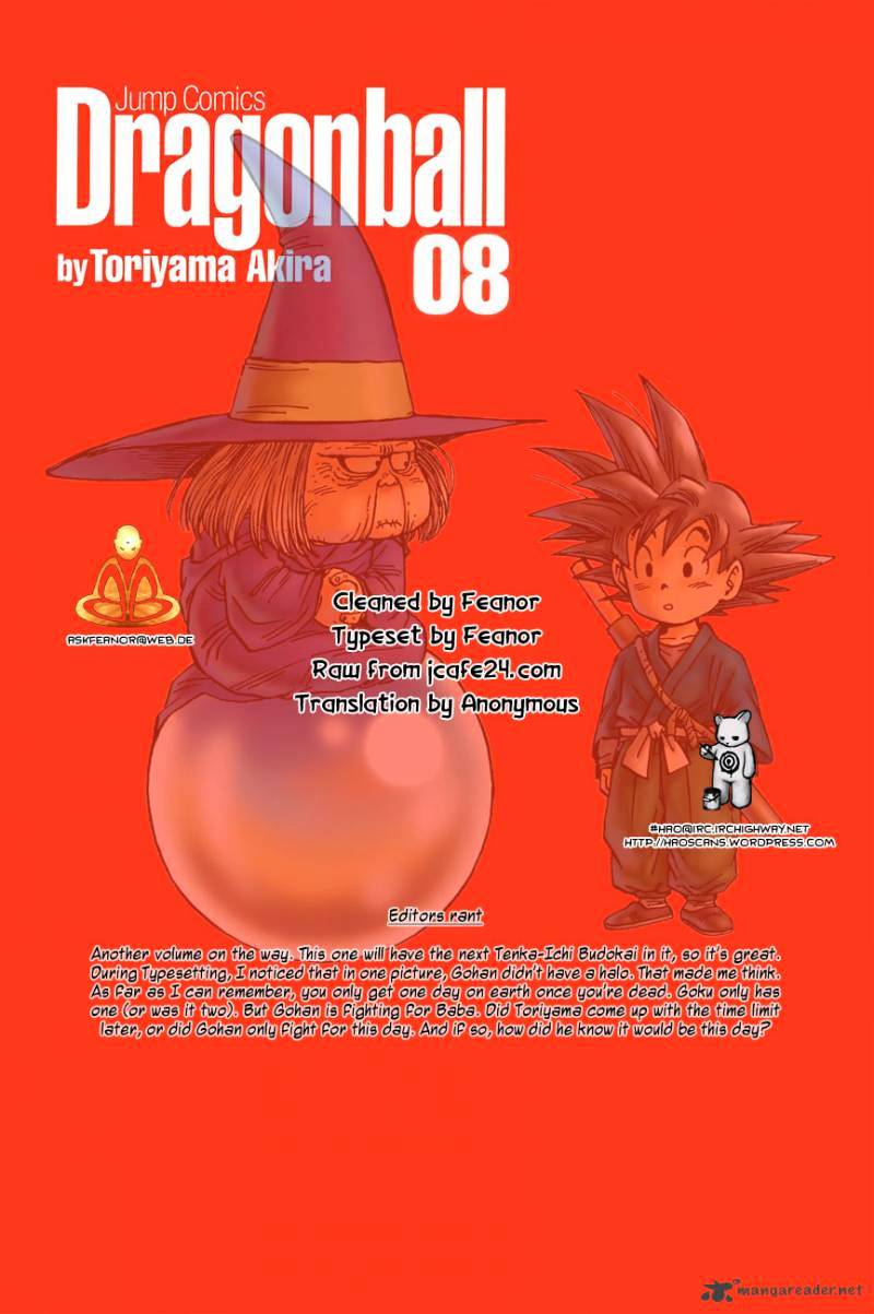 Dragon Ball Chapter 105  Online Free Manga Read Image 2