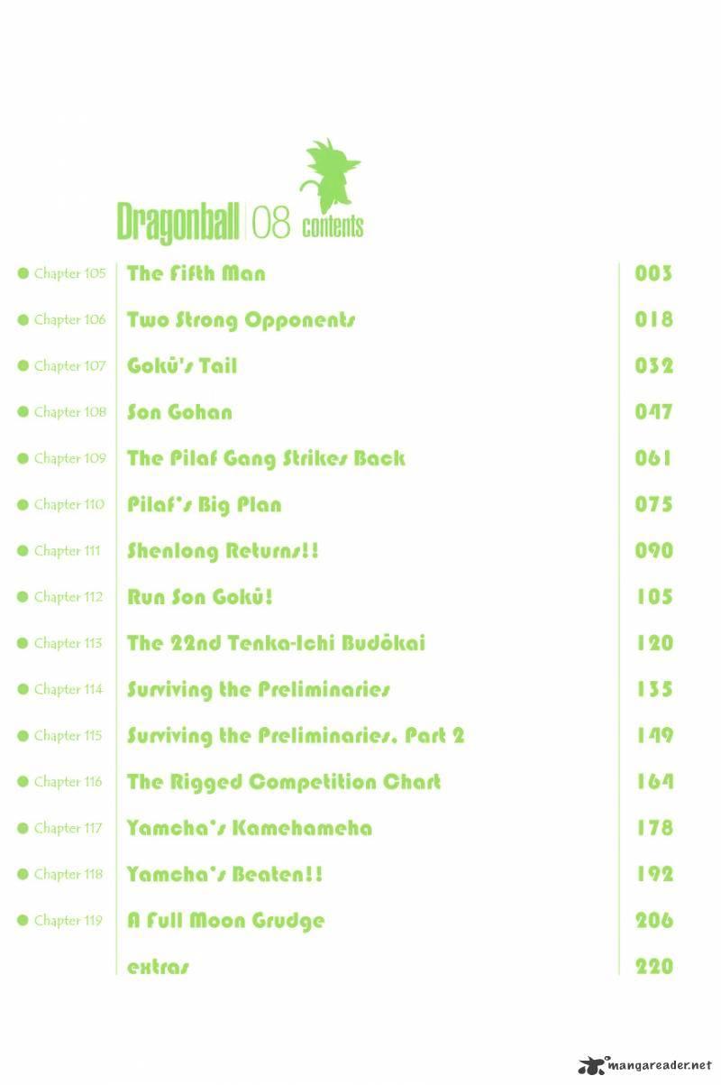 Dragon Ball Chapter 105  Online Free Manga Read Image 5
