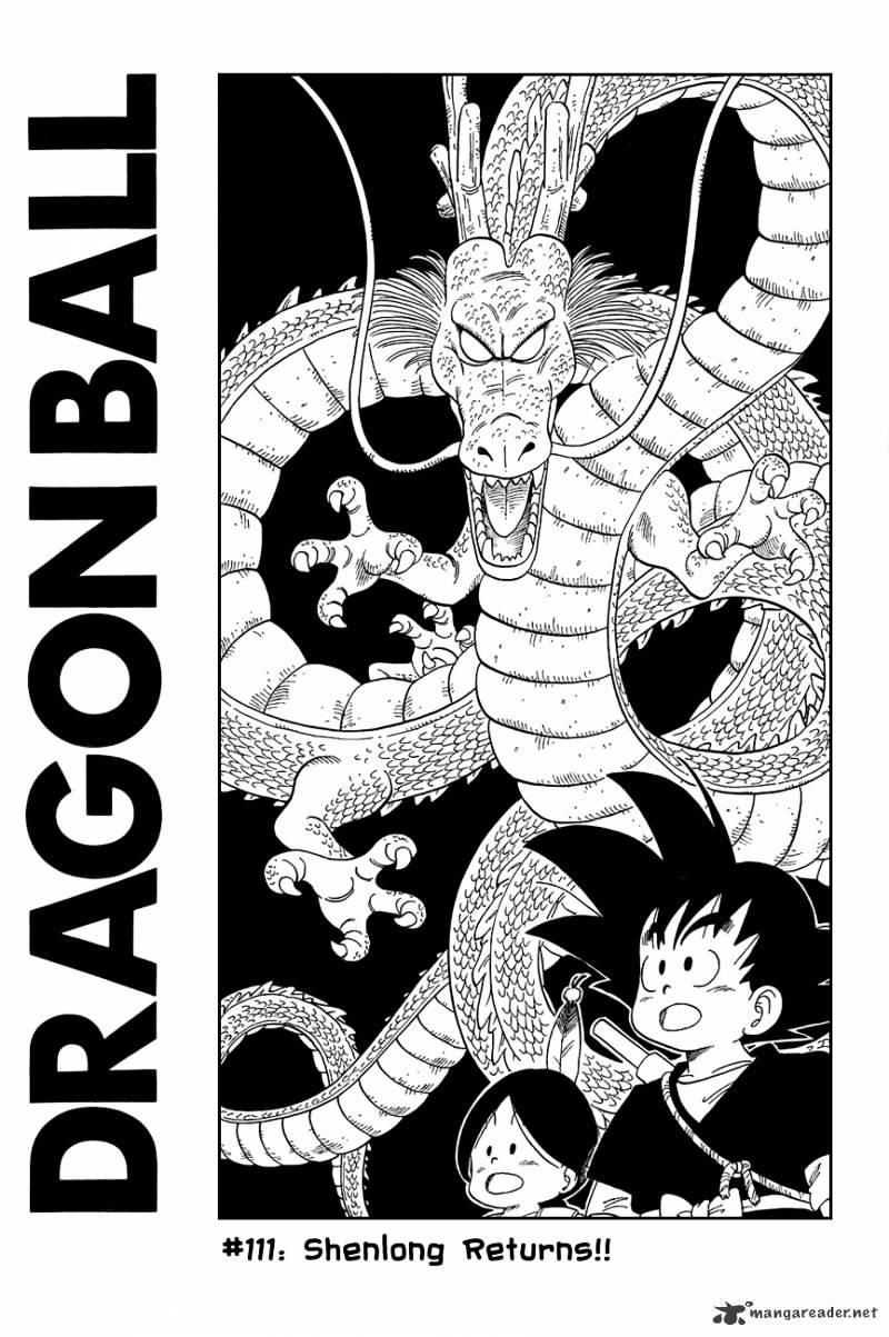 Dragon Ball Chapter 111  Online Free Manga Read Image 2