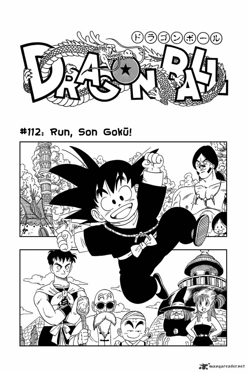 Dragon Ball Chapter 112  Online Free Manga Read Image 2