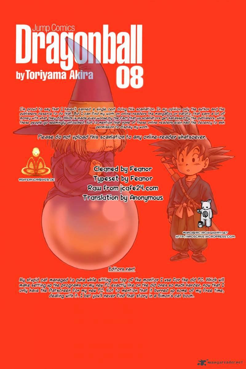 Dragon Ball Chapter 115  Online Free Manga Read Image 1