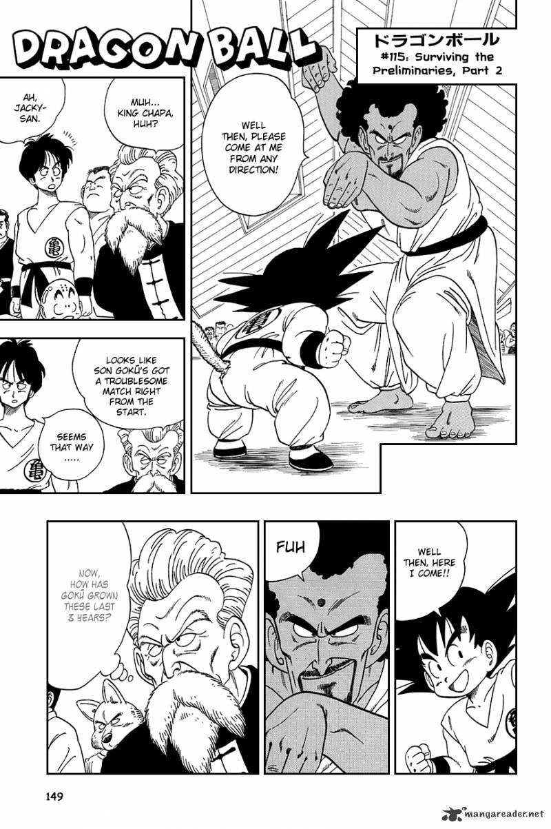 Dragon Ball Chapter 115  Online Free Manga Read Image 2