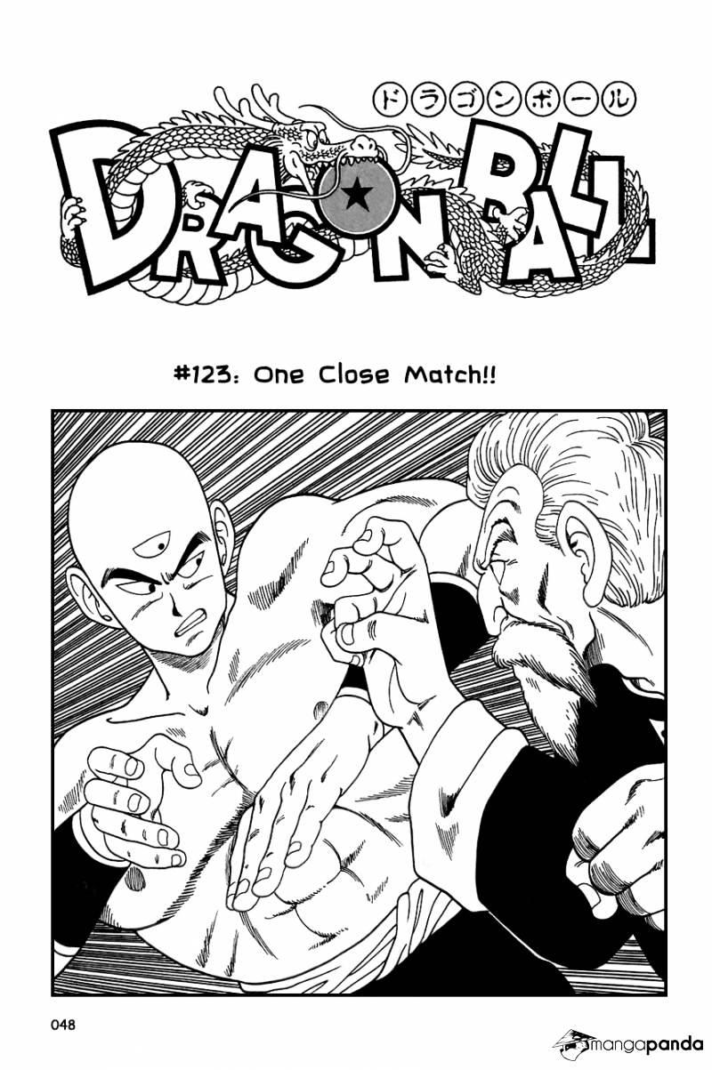 Dragon Ball Chapter 123  Online Free Manga Read Image 2