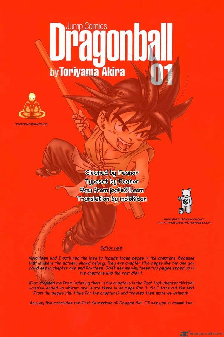Dragon Ball Chapter 14  Online Free Manga Read Image 14