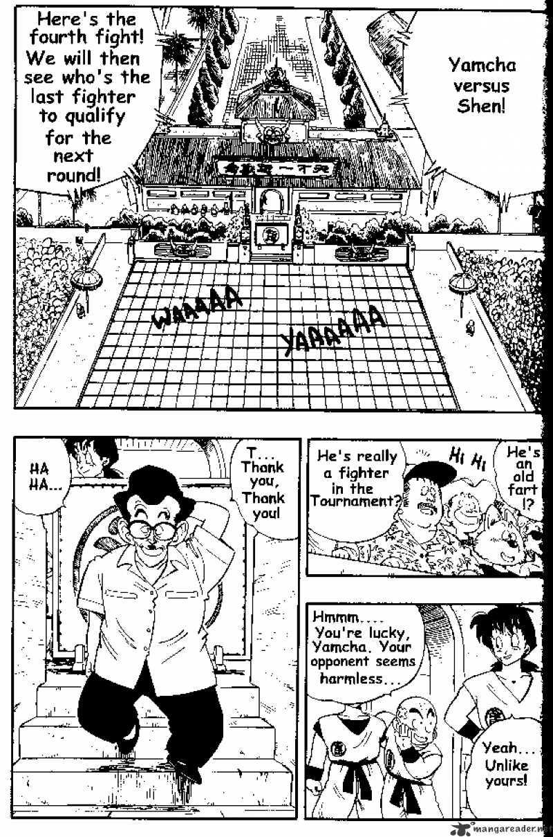 Dragon Ball Chapter 174  Online Free Manga Read Image 1