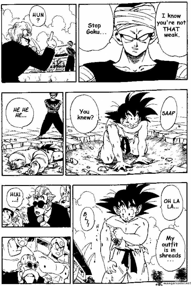 Dragon Ball Chapter 183  Online Free Manga Read Image 12