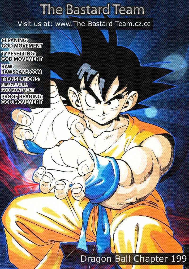 Dragon Ball Chapter 199  Online Free Manga Read Image 15