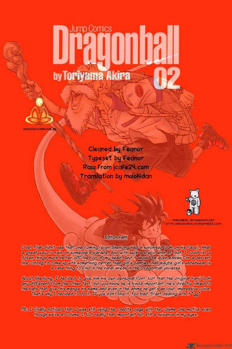 Dragon Ball Chapter 20  Online Free Manga Read Image 15
