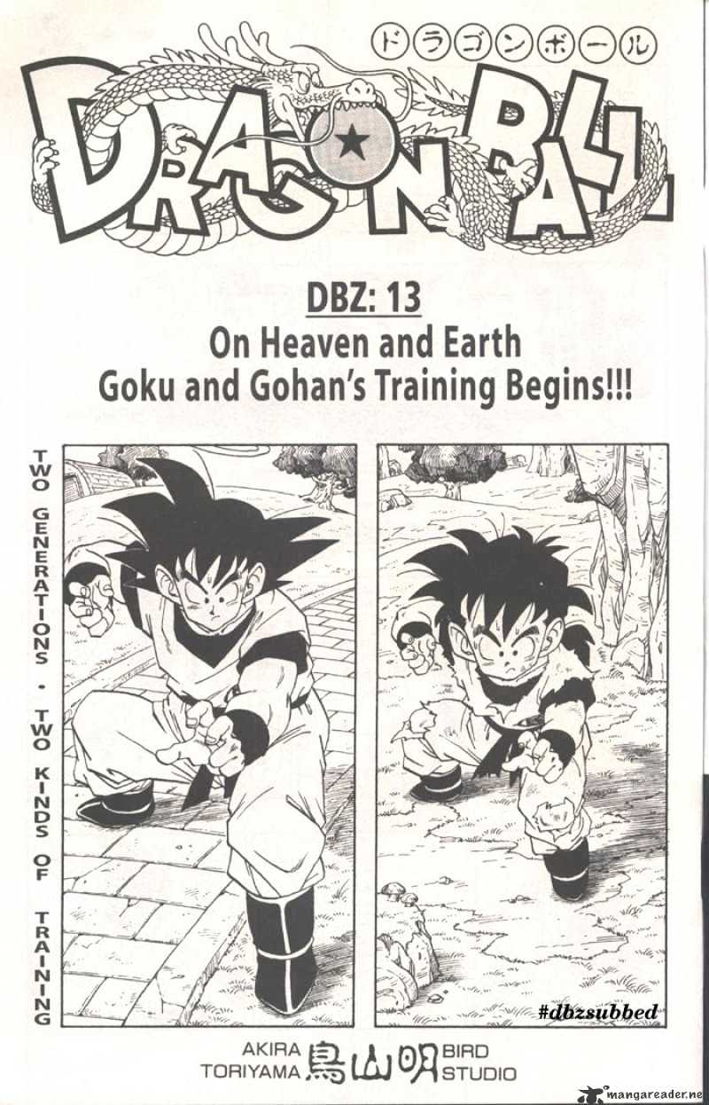 Dragon Ball Chapter 209  Online Free Manga Read Image 1