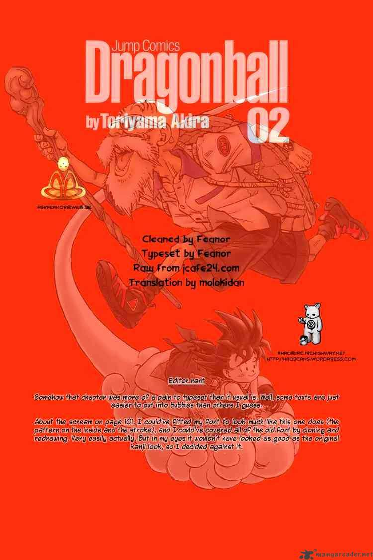 Dragon Ball Chapter 21  Online Free Manga Read Image 14
