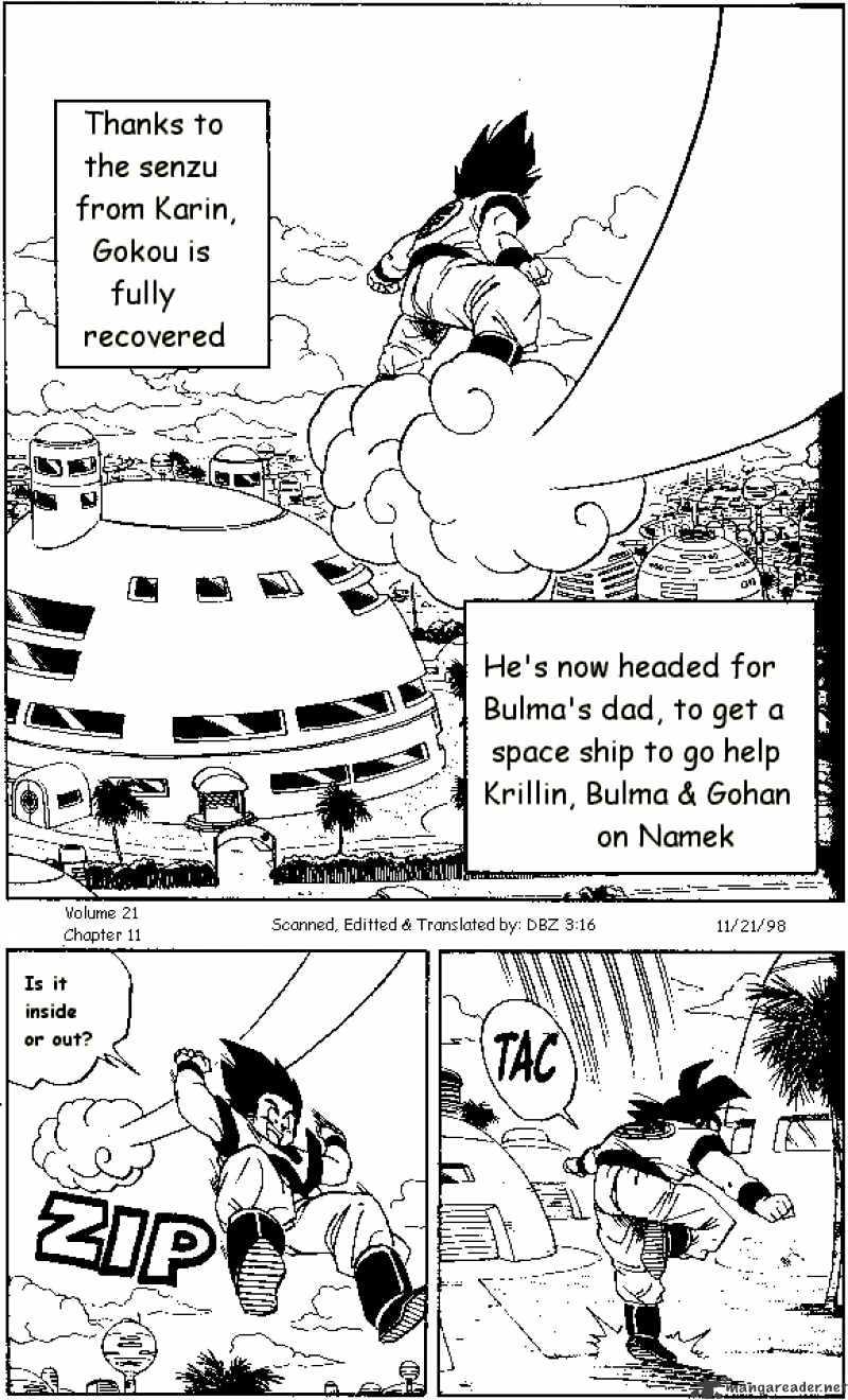 Dragon Ball Chapter 251  Online Free Manga Read Image 1
