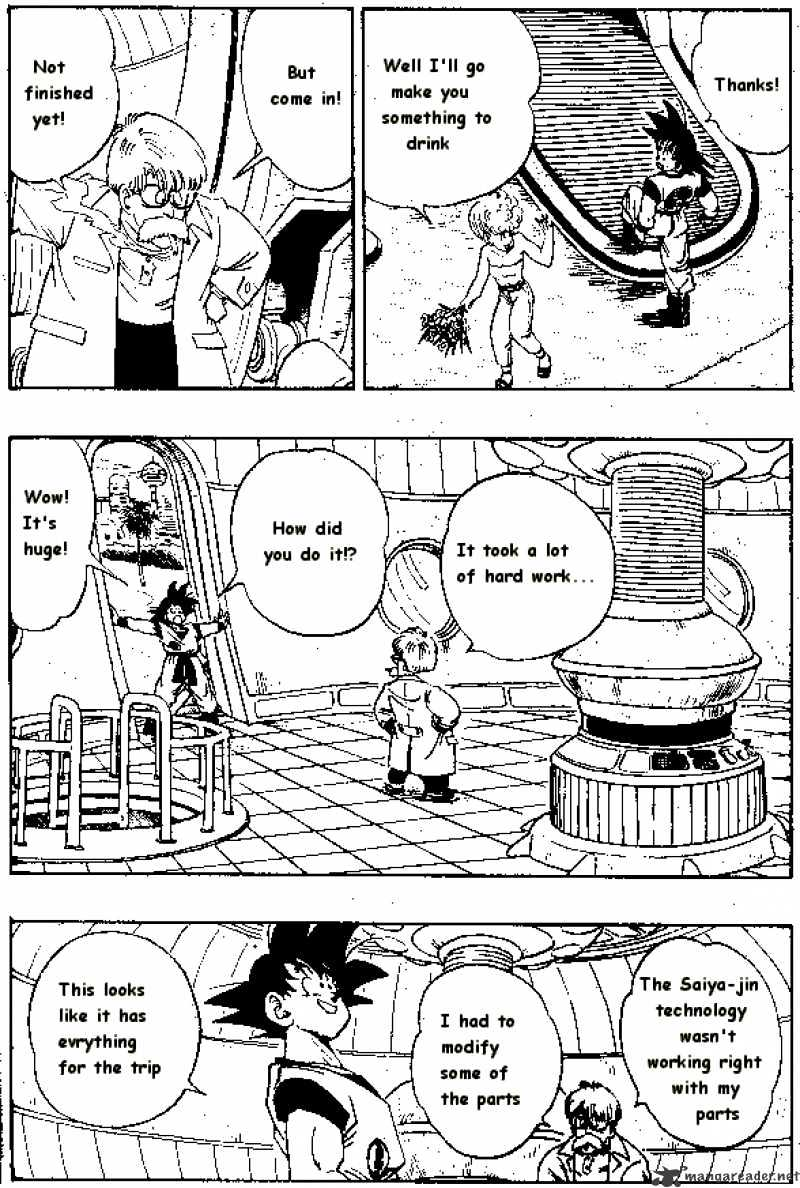 Dragon Ball Chapter 251  Online Free Manga Read Image 4