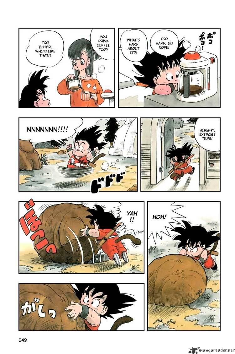 Dragon Ball Chapter 3  Online Free Manga Read Image 2