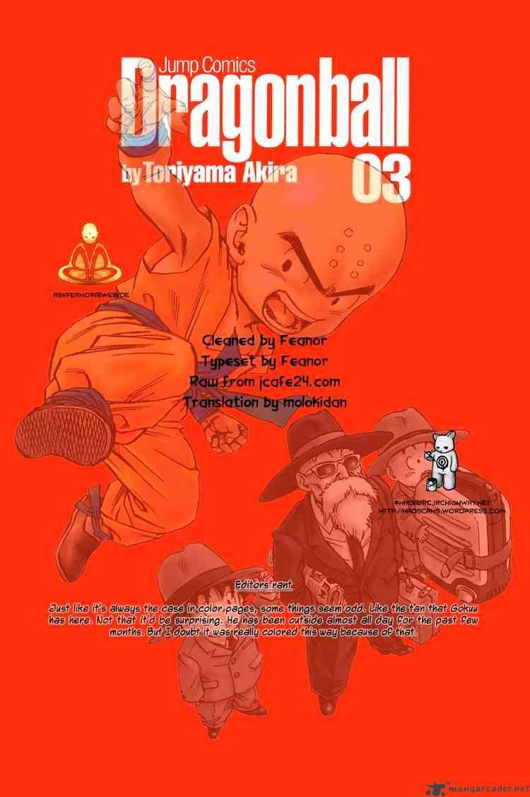 Dragon Ball Chapter 33  Online Free Manga Read Image 16
