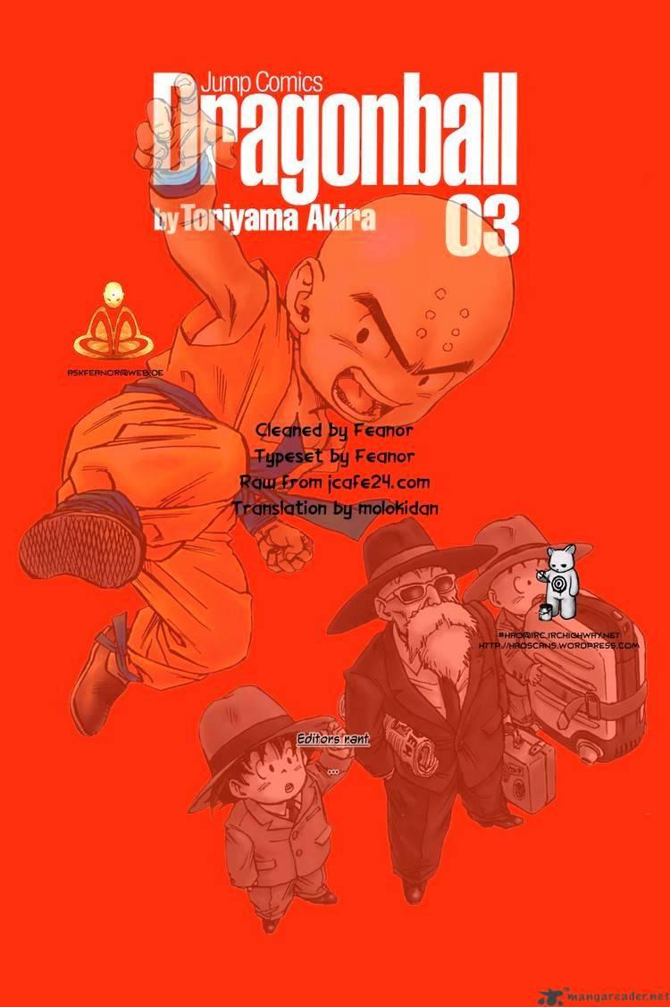 Dragon Ball Chapter 34  Online Free Manga Read Image 15