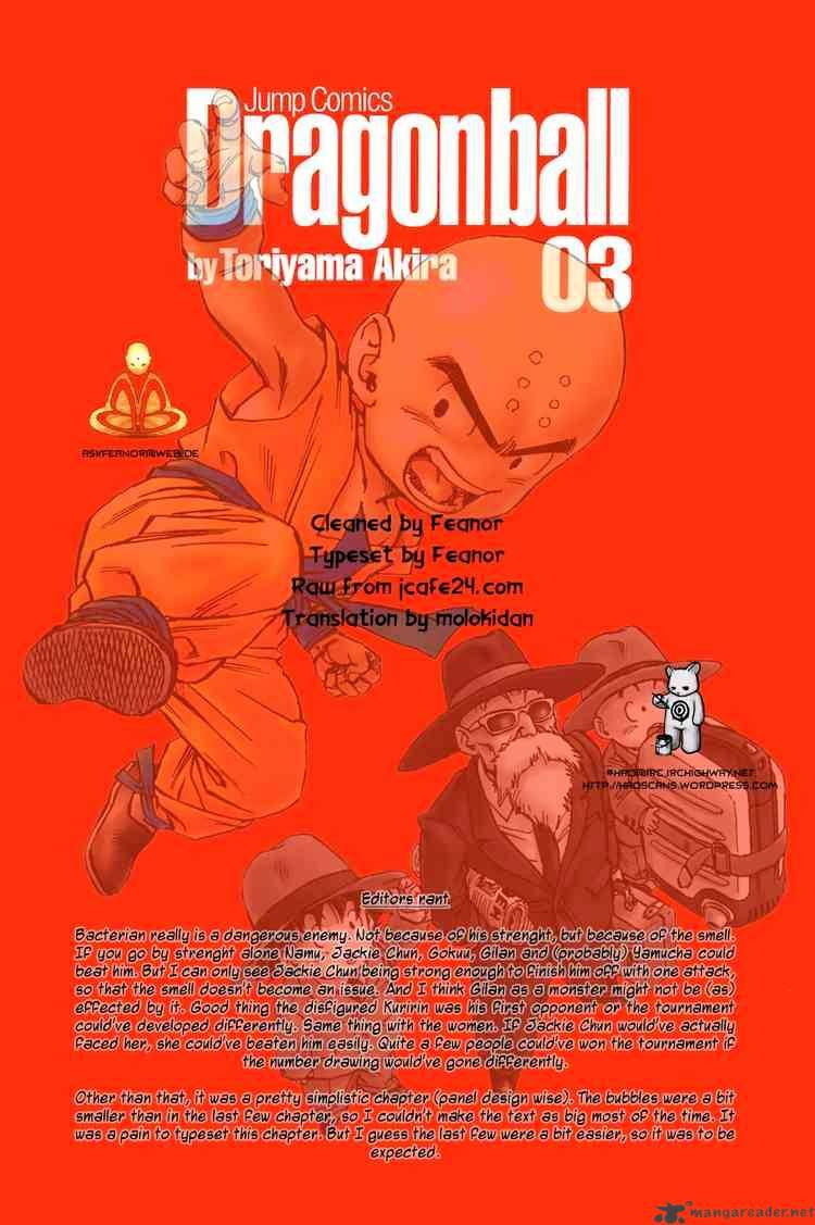 Dragon Ball Chapter 35  Online Free Manga Read Image 14