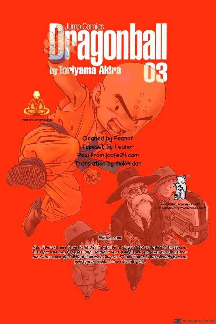 Dragon Ball Chapter 37  Online Free Manga Read Image 15