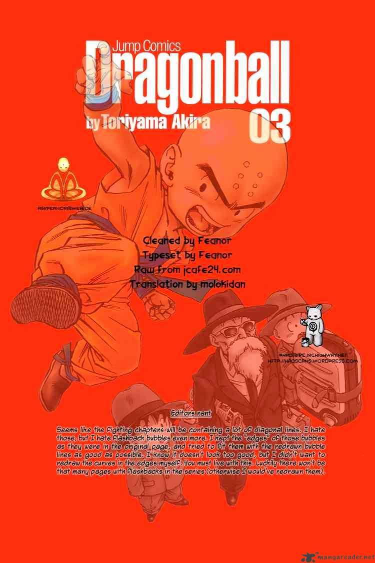 Dragon Ball Chapter 38  Online Free Manga Read Image 15