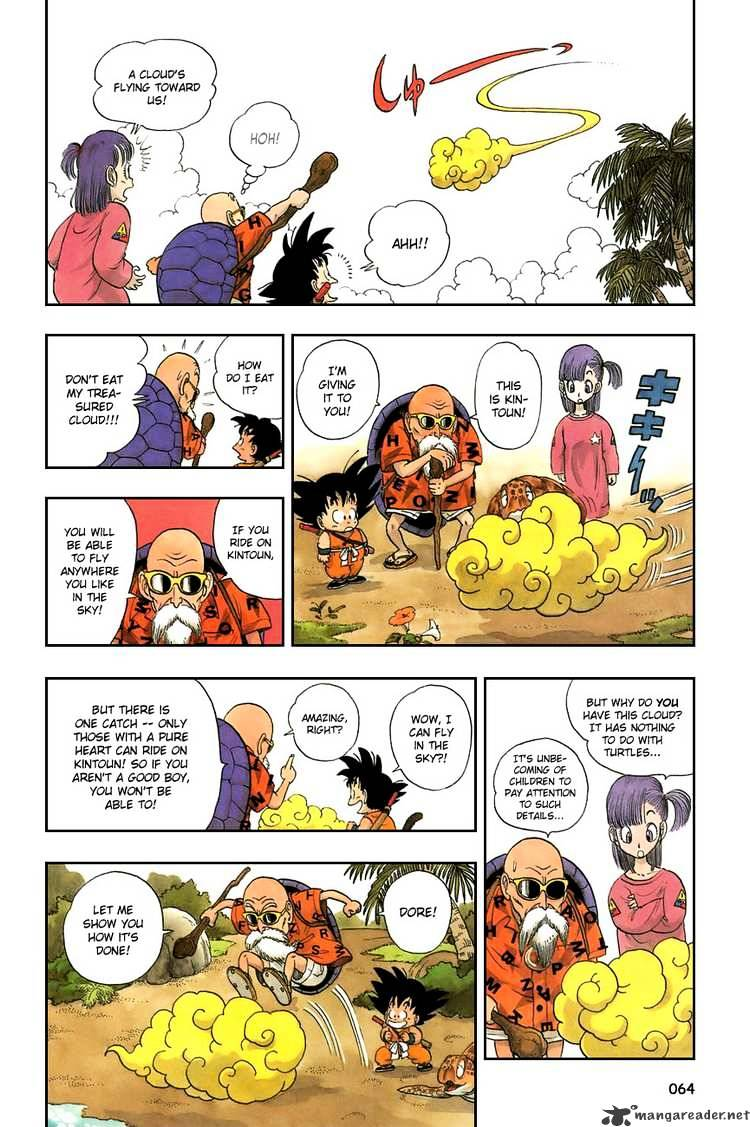 Dragon Ball Chapter 4  Online Free Manga Read Image 3