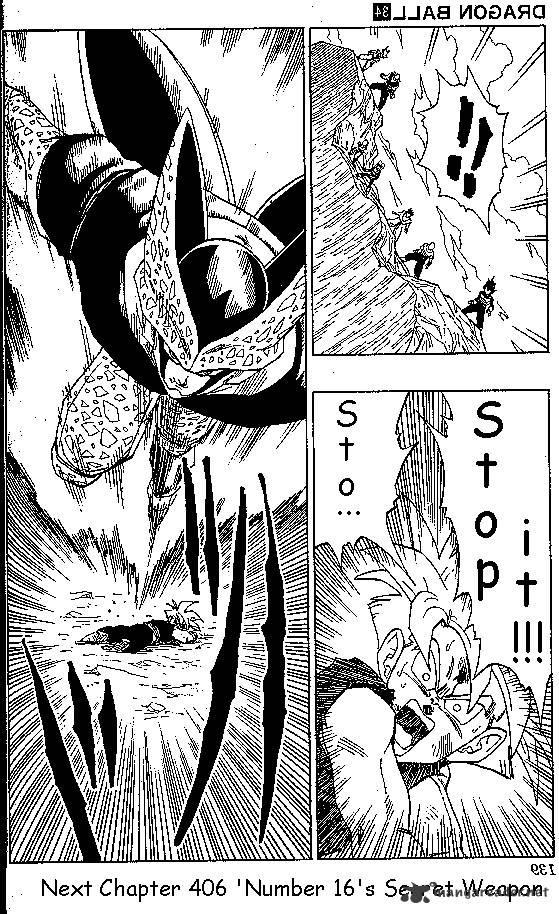 Dragon Ball Chapter 406  Online Free Manga Read Image 15