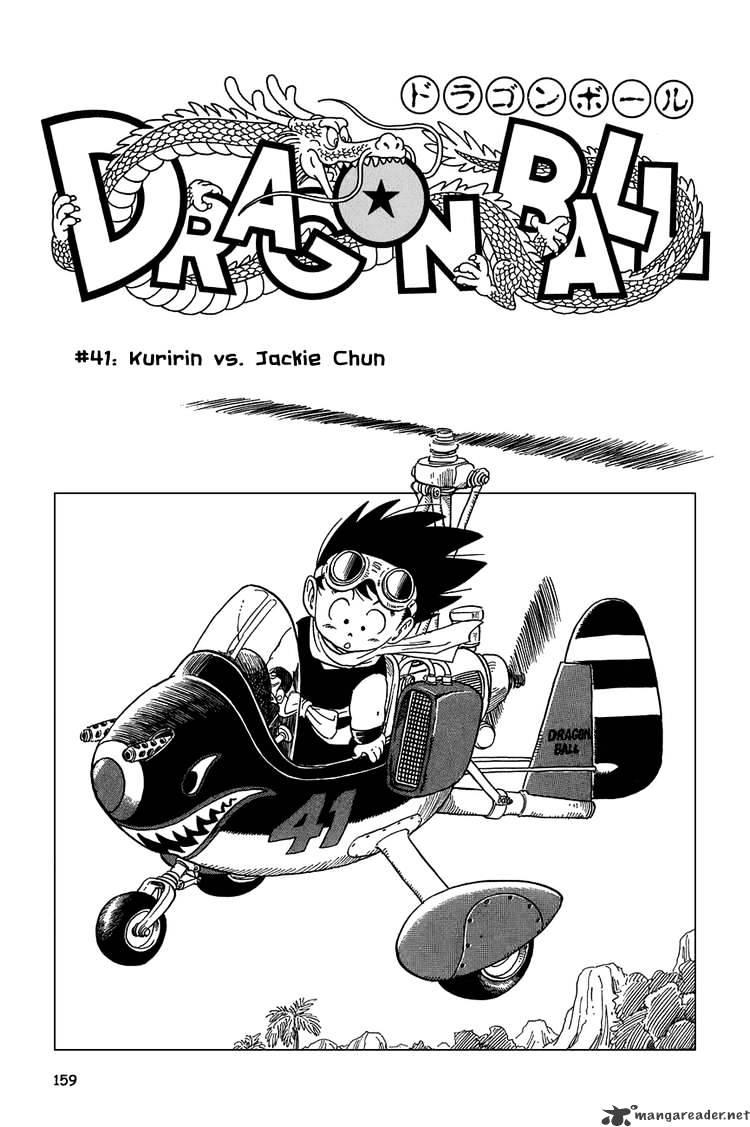 Dragon Ball Chapter 41  Online Free Manga Read Image 1