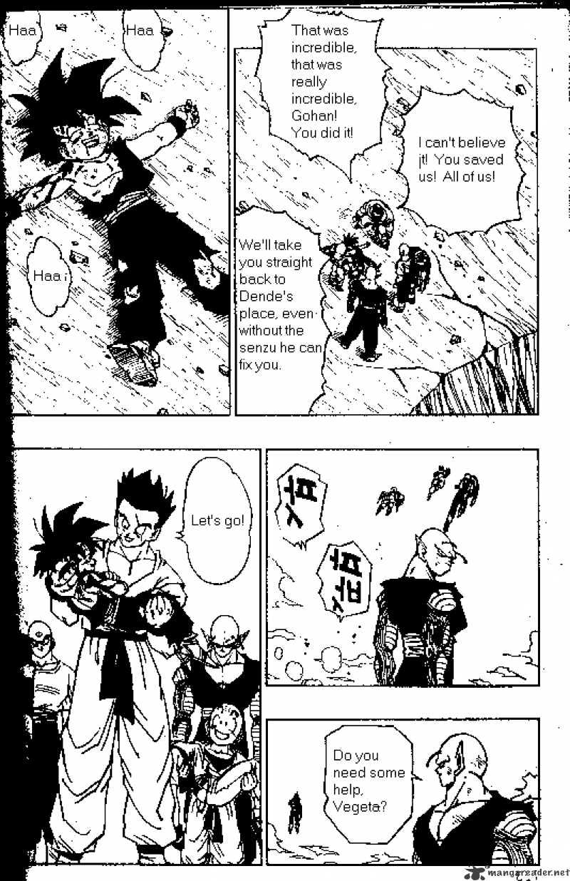 Dragon Ball Chapter 418  Online Free Manga Read Image 2