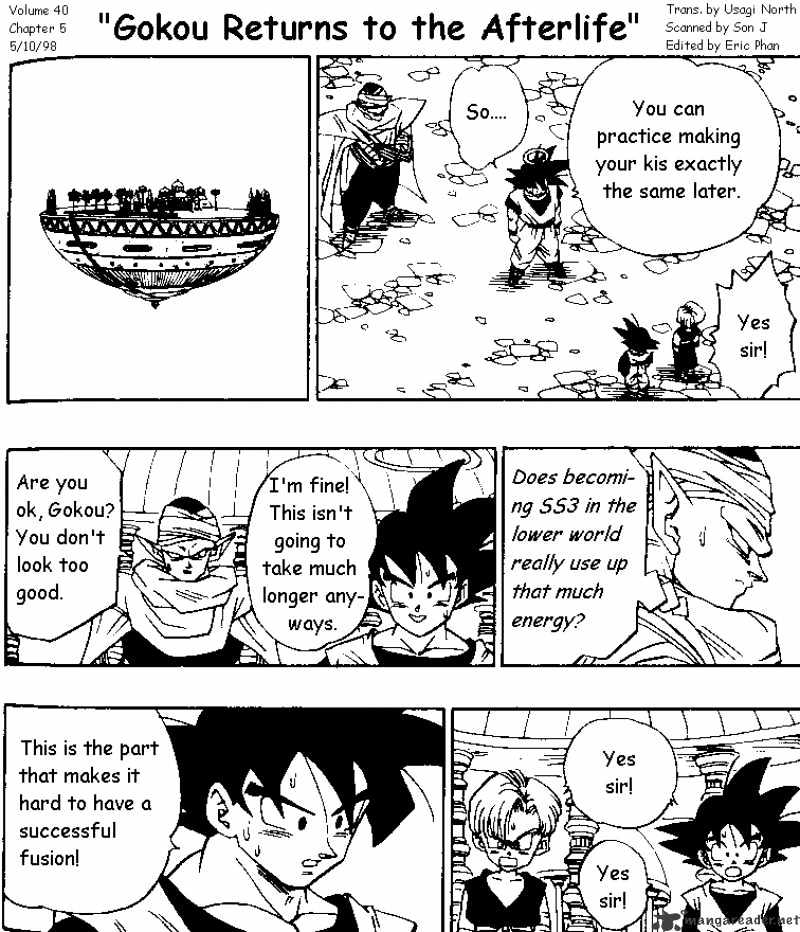 Dragon Ball Chapter 478  Online Free Manga Read Image 1