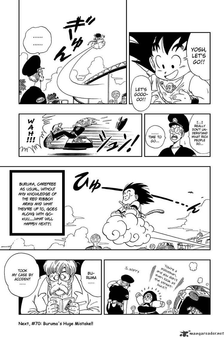 Dragon Ball Chapter 69  Online Free Manga Read Image 14