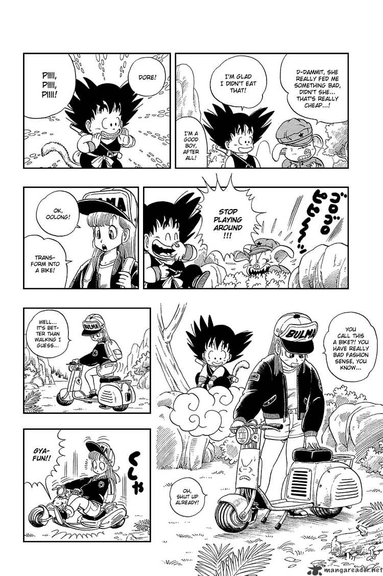 Dragon Ball Chapter 7  Online Free Manga Read Image 9