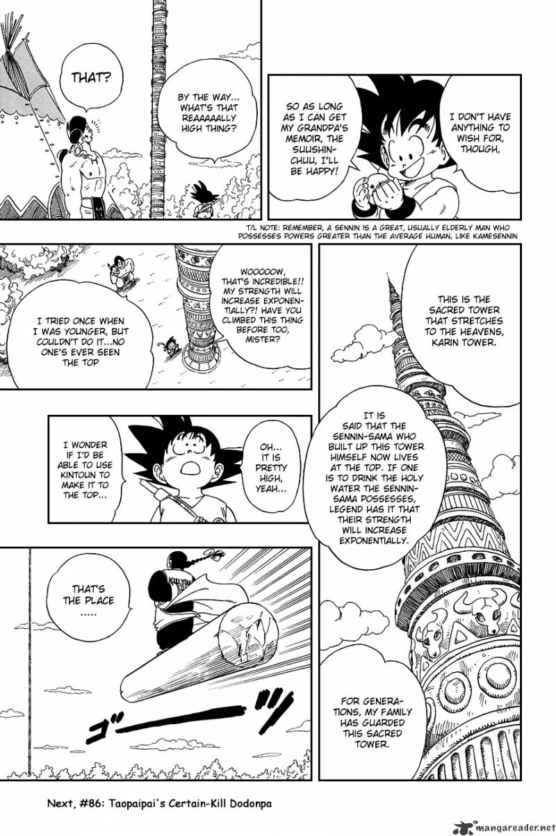 Dragon Ball Chapter 85  Online Free Manga Read Image 15