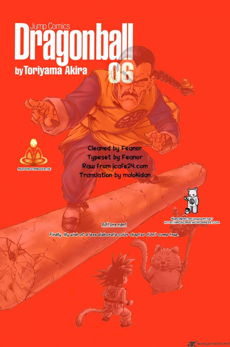 Dragon Ball Chapter 86  Online Free Manga Read Image 1