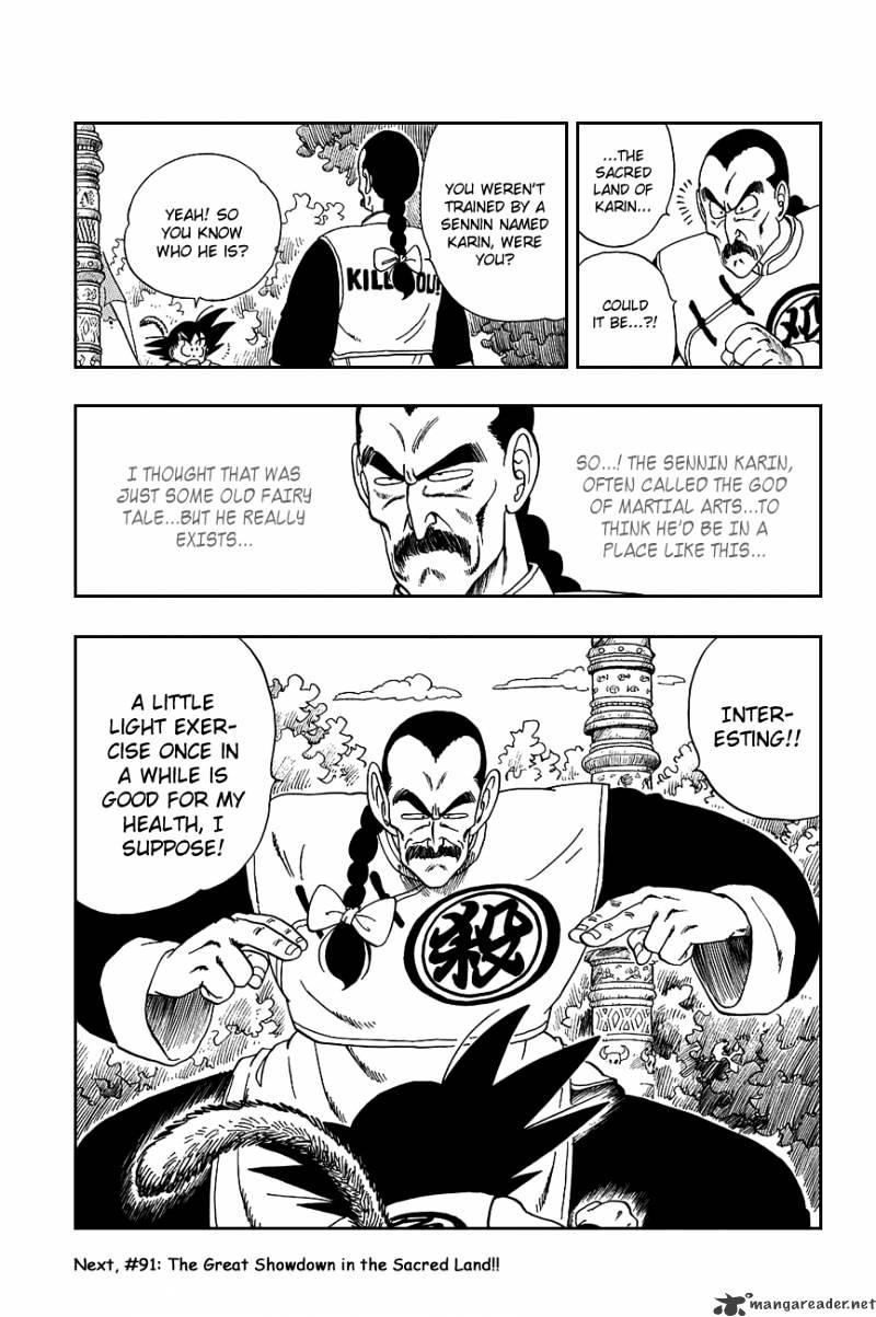 Dragon Ball Chapter 90  Online Free Manga Read Image 19