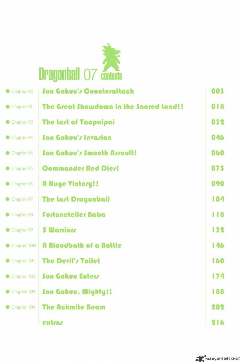 Dragon Ball Chapter 90  Online Free Manga Read Image 4