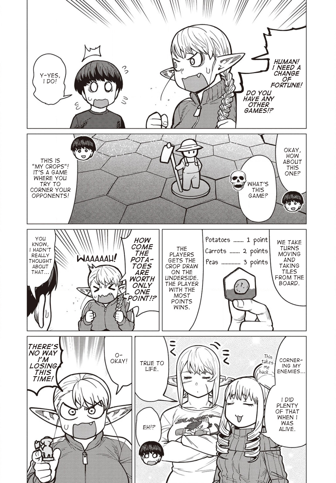 Elfsan wa Yaserarenai Chapter 36  Online Free Manga Read Image 11