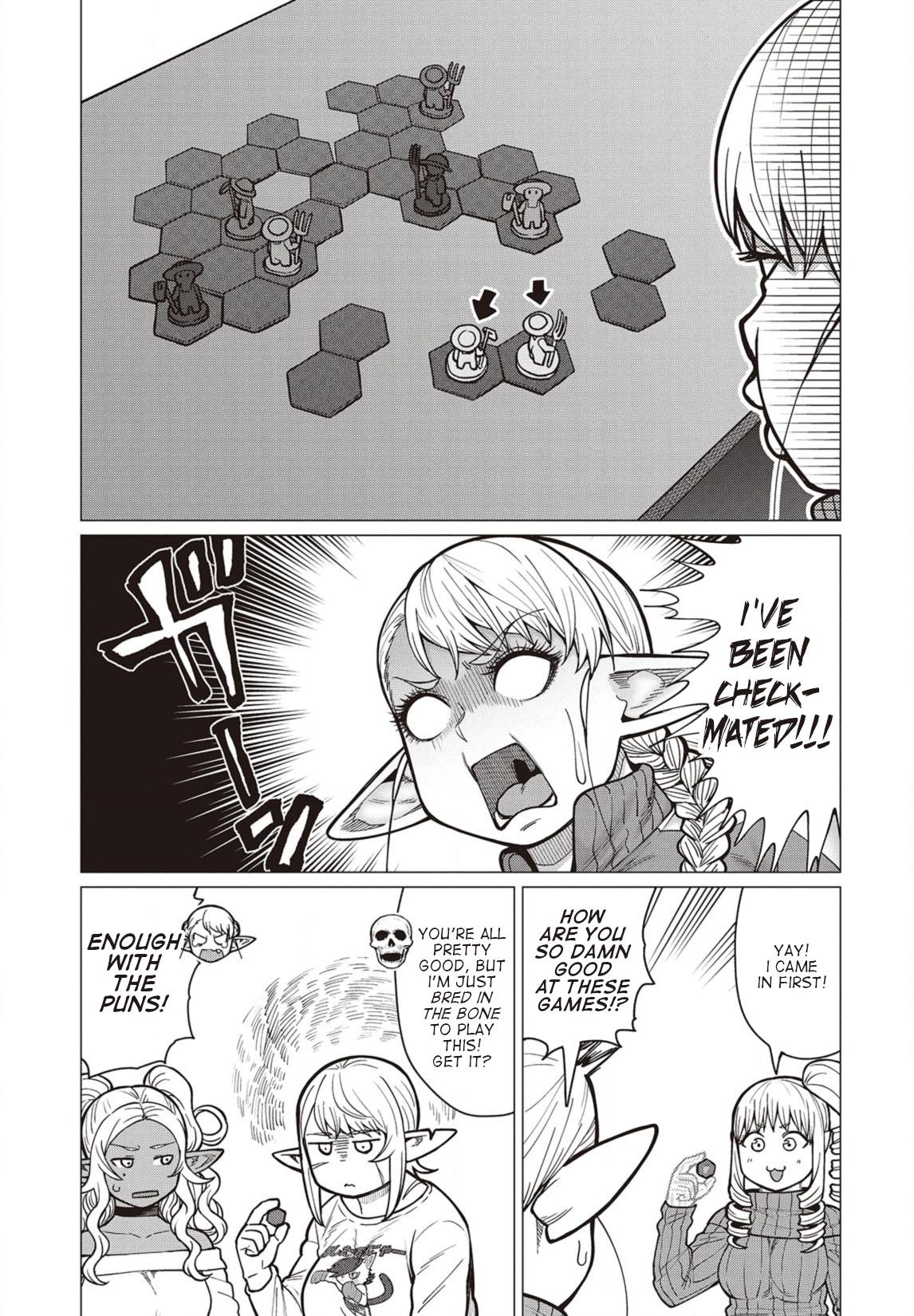 Elfsan wa Yaserarenai Chapter 36  Online Free Manga Read Image 12